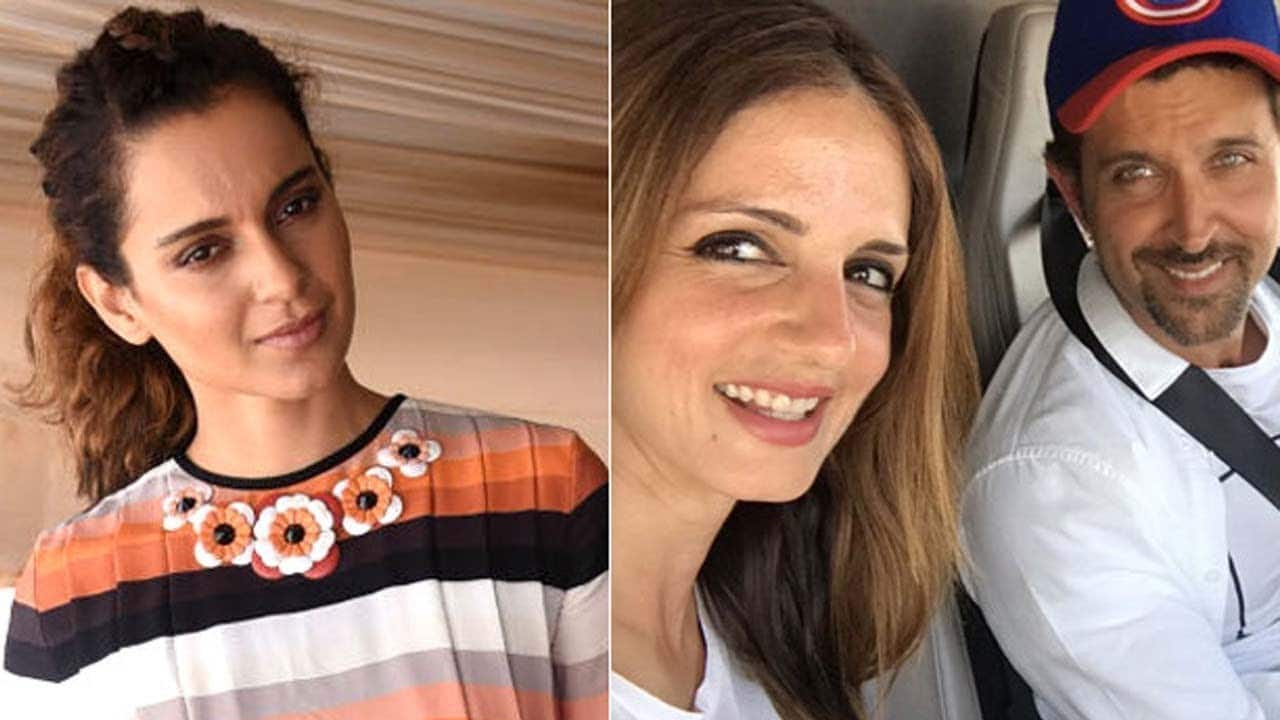 Guess Who Convinced Hrithik Roshan To Speak About Kangana?