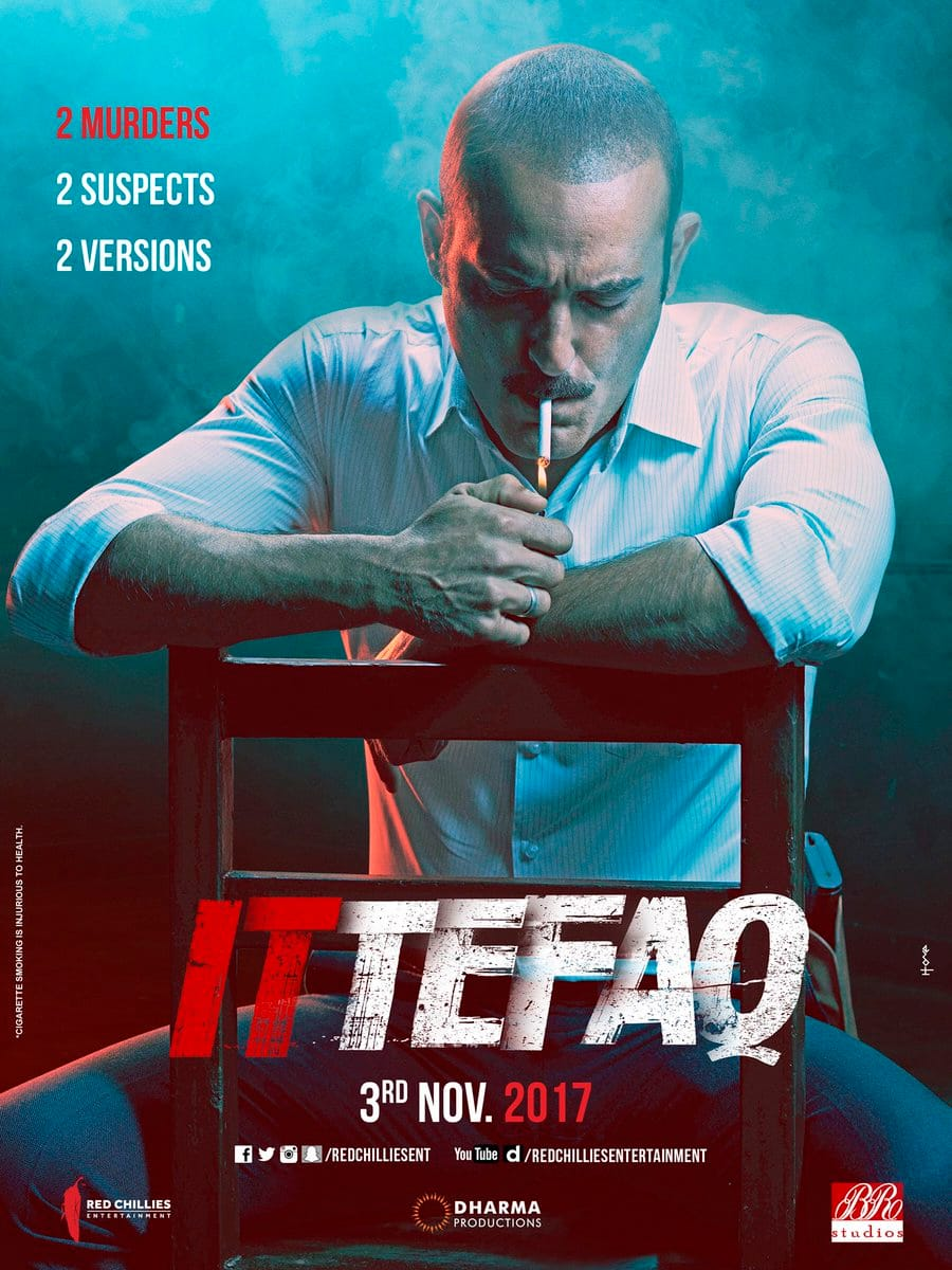 Ittefaq Posters Make Way For Suspense, Intrigue & Mystery! Something Bollywood Needs Bigtime
