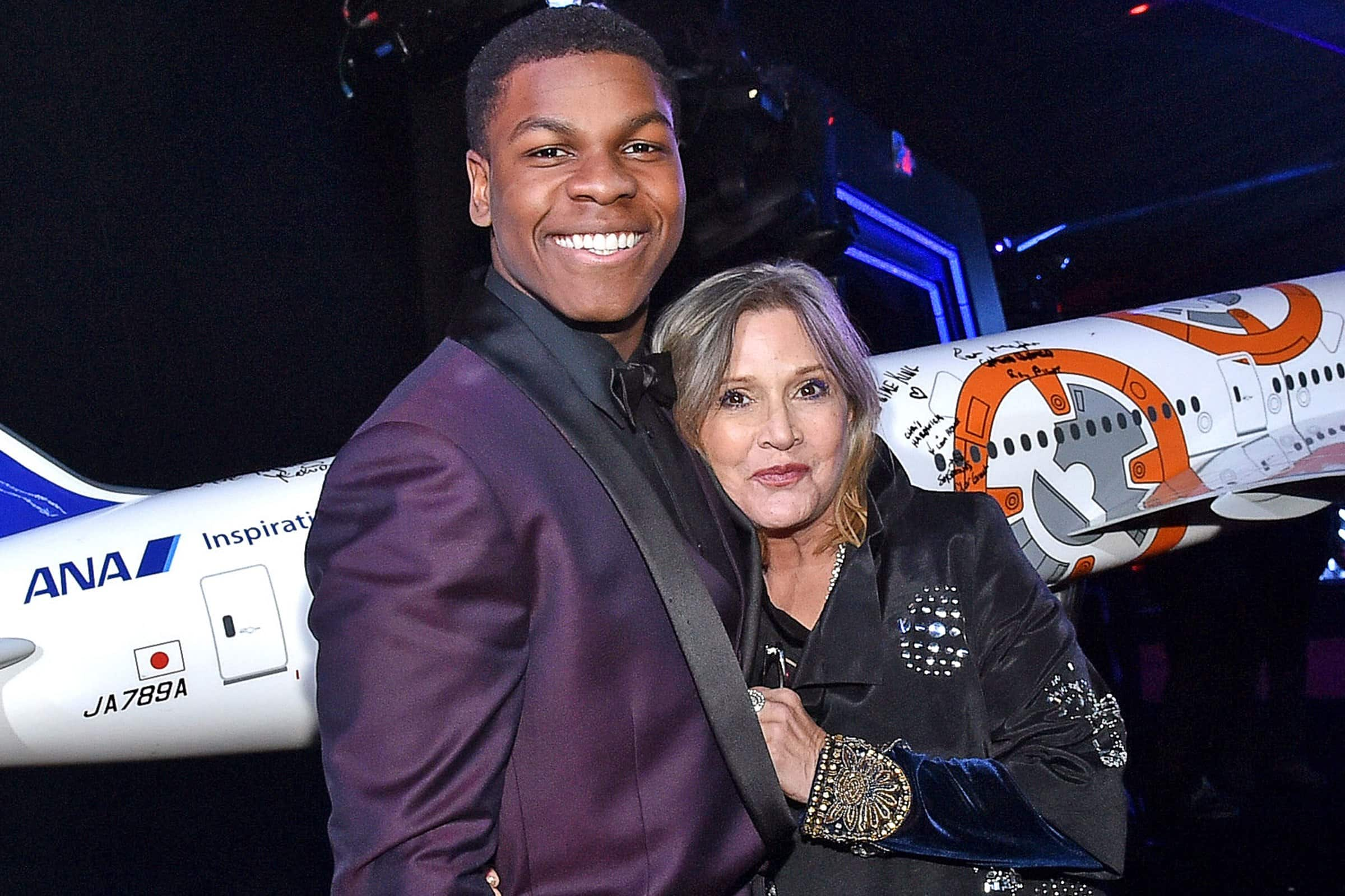 John Boyega Talks About Carrie Fisher's Role In Star Wars: Episode VIII
