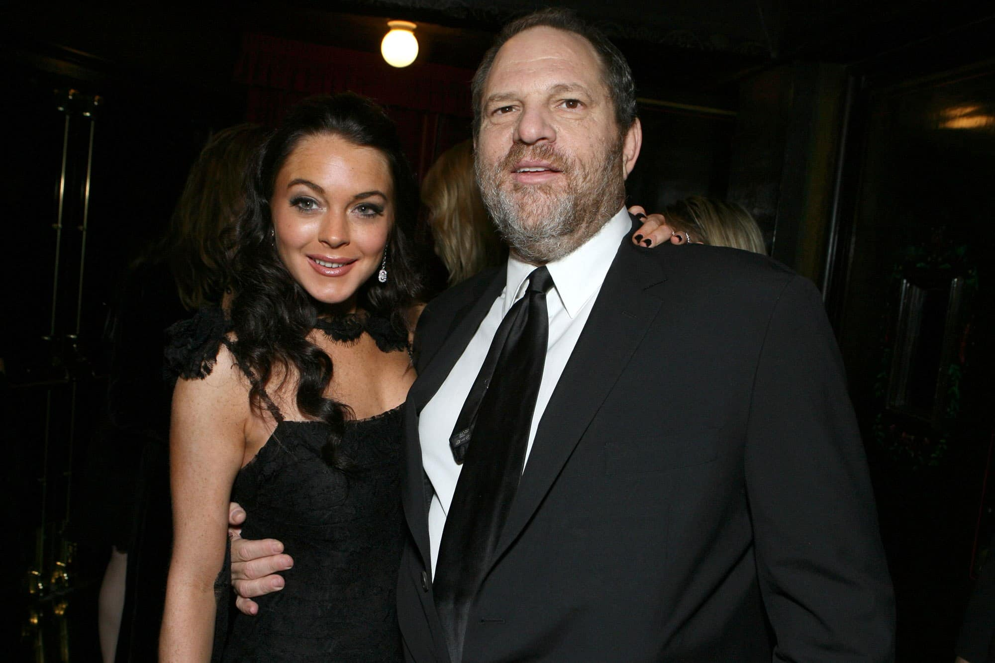 Lindsay Lohan Comes Out In Support Of Harvey Weinstein