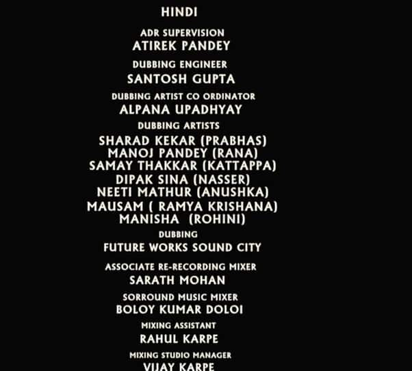 Meet The Behind The Scene Heroes That Made The Baahubali Franchise A Success By lending Their Voices To The Characters