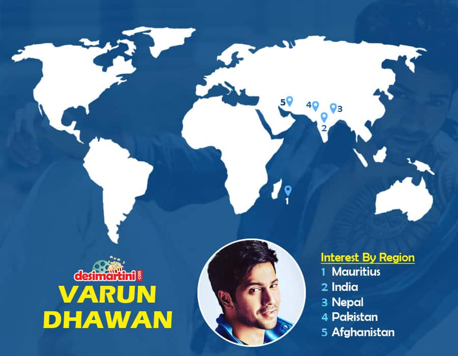 9 Popular Bollywood Hunks & Countries That Google Search Them The Most!