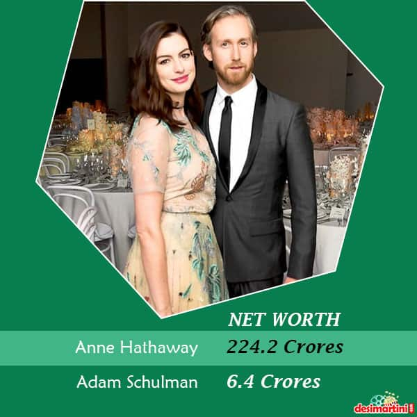8 Hollywood Female Celebrities Who Are Much Higher In Their Net Worth Than Their Celebrity Partners