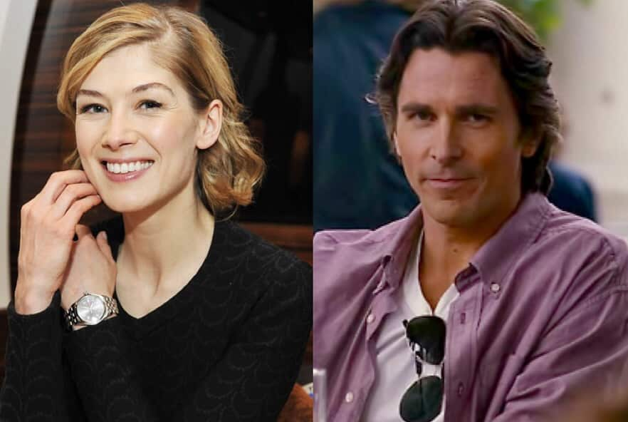 """Rosamund Pike """"Barely Spoke"""" To Christian Bale While Filming &squot;Hostiles&squot;"""