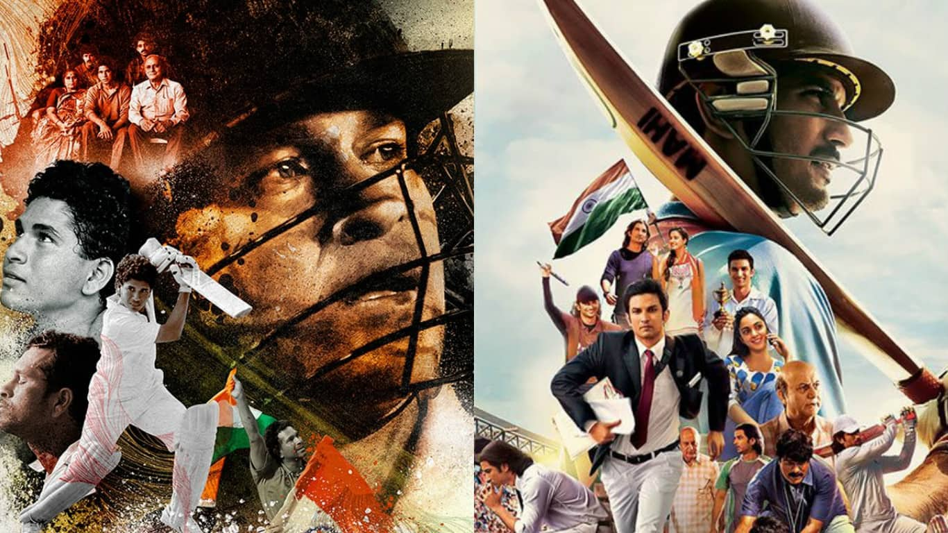 6 Differences You Can Expect Between MS Dhoni- The Untold Story And Sachin- A Billion Dreams