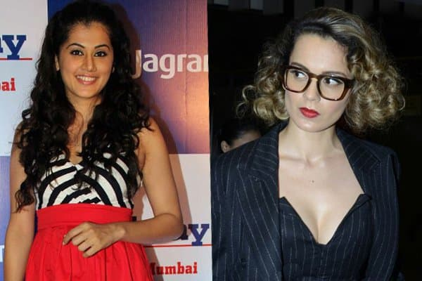 Here's How Taapsee Pannu Is Giving Tough Competition To Kangana Ranaut!