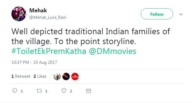Audience Review: Akshay Kumar and Bhumi Pednekar's Toilet Ek Prem Katha