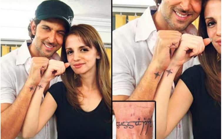5 Bollywood Celebrities Who Regret Getting Tattoos With Their Ex's Name
