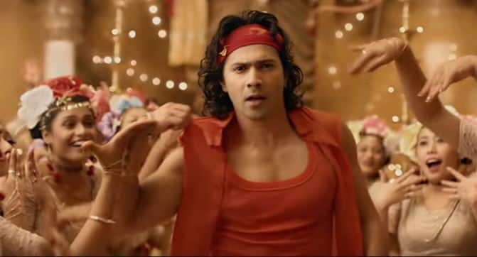 Judwaa Varun calls out to his beloved Bappa in this rousing track