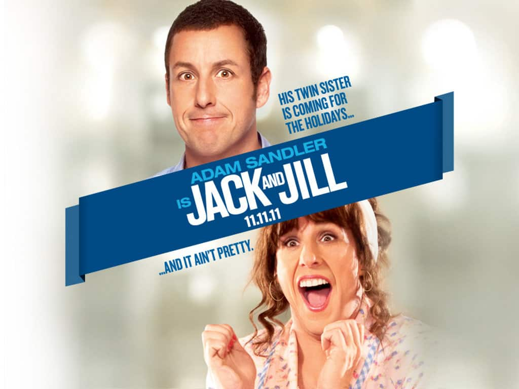 6 reasons why adam sandler should make better films for Jack and jill free movie