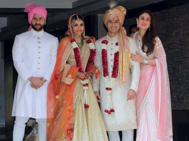 Soha Ali Khan Kunal Khemu Wedding Pictures And A Bonus