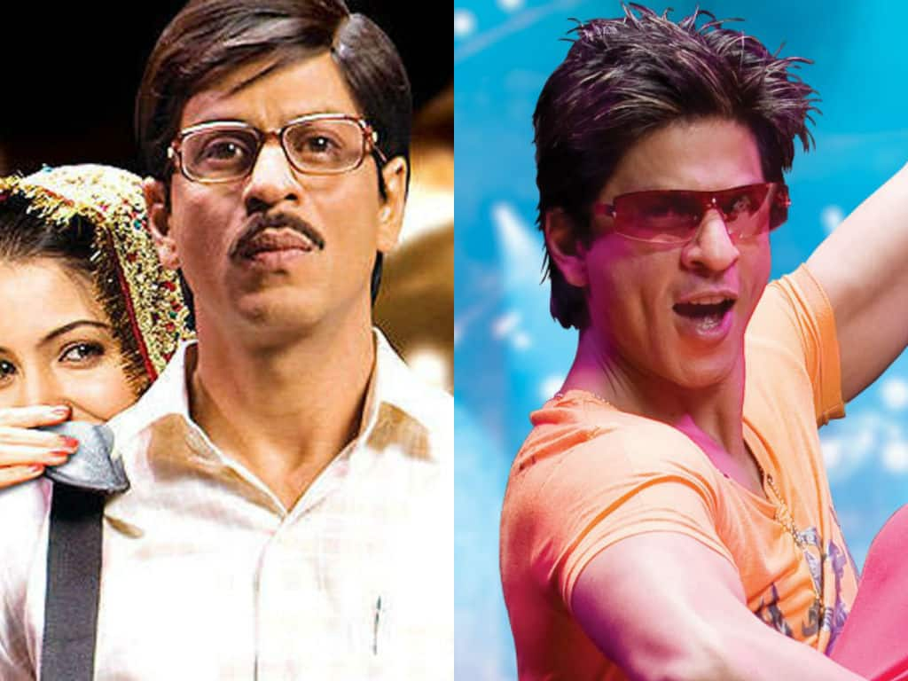 Shah Rukh Khan S Hairstyles Through The Years Desimartini