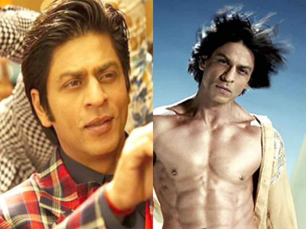 Shah Rukh Khan's Hairstyles Through the Years - DesiMartini