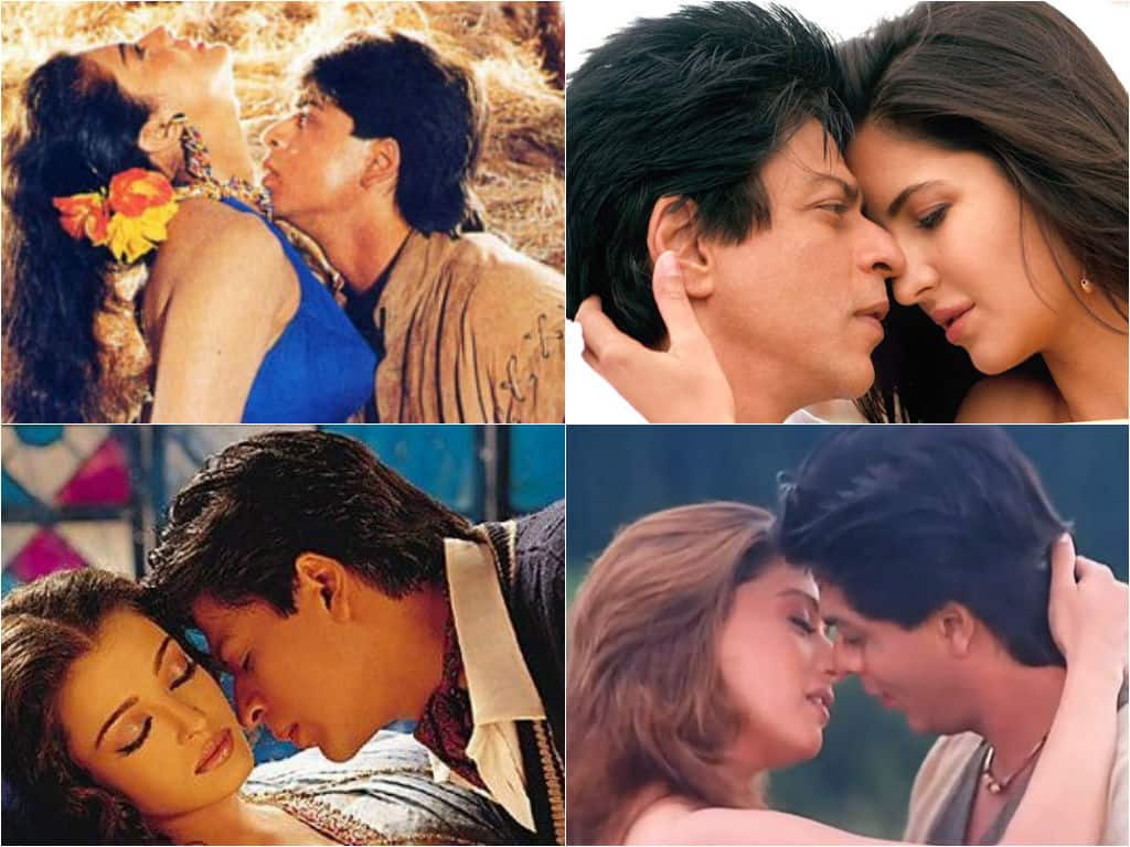 Image result for shah-rukh-khan-intimate-scene