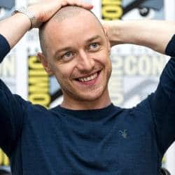 It's Like A F*****G Beacon: James McAvoy Doesn't Like His Charles Xavier Look