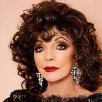 Joan Collins Wears Look That Suites Her
