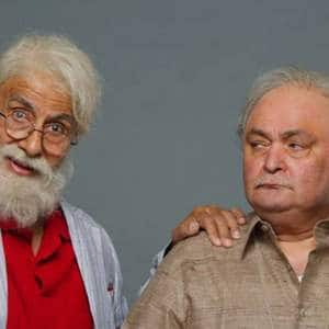102 not out: Amitabh Bachchan plays dad to an adorable Rishi Kapoor in new film