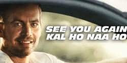 This Paul Walker Tribute and Kal Ho Na Ho Mash-Up Will Hit You Right in the Feels