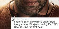 Shah Rukh Khan Just Tweeted The First Look Of Bajrangi Bhaijaan