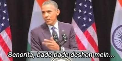 Obama Quotes DDLJ - Video of the Day