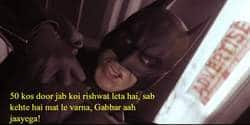 This Gabbar Dub of Batman: The Dark Knight Rises Is Hilarious!