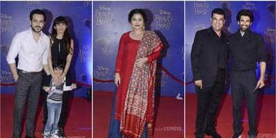 Bollywood Celebrities At The Screening Of Disney's Beauty And The Beast