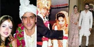 34 Bollywood Celebrities On Their Wedding Day!