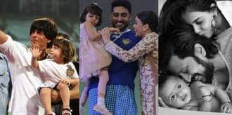 9 Bollywood Celebrity Kids Who Are Too Adorable To Ignore!