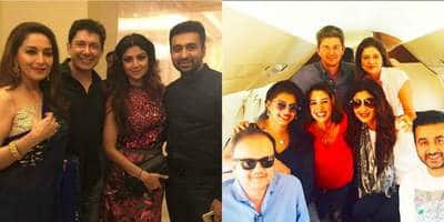 In Pictures: Shilpa Shetty And Madhuri Dixit In Goa