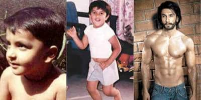 15 Childhood Pictures Of Bollywood Celebrities!