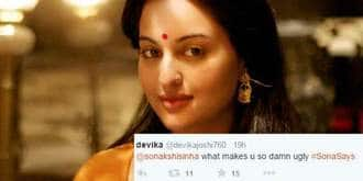 A Girl Asked Sonakshi Why Is She Ugly, Her Response Will Leave You In Splits!