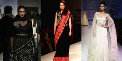 एमेज़ॉन इंडिया फैशन वीक में बॉलीवुड की एक्ट्रेसेज़ ने बिखेरे जलवे !