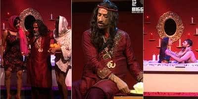 बिग बॉस 10 रिव्यू : स्वामी जी ने लोपामुद्रा और मोनालिसा के साथ शेयर किया बाथरूम  !