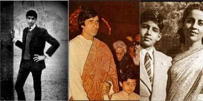17 Rare Pictures Of Bollywood's Megastar Amitabh Bachchan