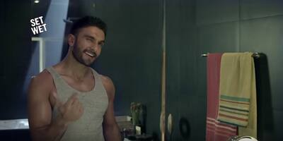 Ranveer Singh's Set Wet Sexy Ad Just Makes Us Love Him Even More!