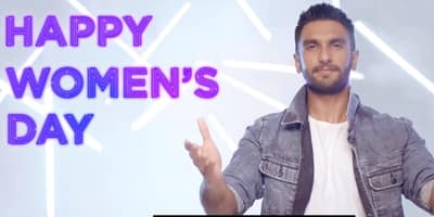 Ranveer Singh Has Some Promises To Make This Women's Day And You Would Love To Listen!
