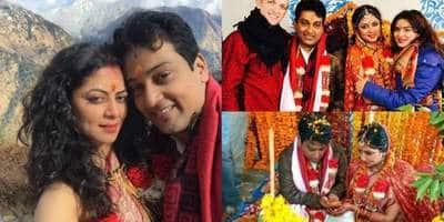 टीवी की चंद्रमुखी चौटाला यानी कविता कौशिक ने हिमालय में की शादी, देखिये तस्वीरें !