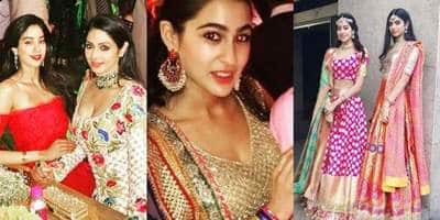 सारा अली खान, जाह्नवी कपूर और ख़ुशी कपूर का देसी अवतार है बेहद हॉट !