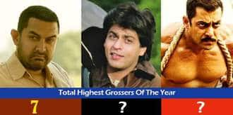 Guess Which Khan Has The Most Number Of Highest Grossing Movies Of The Year?