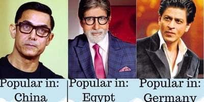 इन देशों में हैं बॉलीवुड के 14 स्टार्स के सबसे ज्यादा दीवाने !