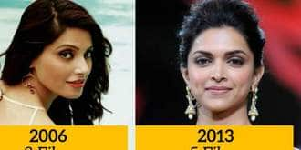 13 Popular Bollywood Actresses And Maximum Films They Have Done In A Year