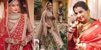 Not Just Anushka, Here Are 7 More Bollywood Brides Who Wore Sabyasachi On Their Big Day