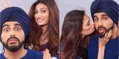 फिल्म 'मुबारकां' के फोटोशूट में अर्जुन कपूर ओर अथिया शेट्टी की केमिस्ट्री है बेहद हॉट !