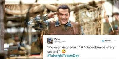 Some Fans Have Already Seen The Teaser Of Salman Khan's Tubelight And Here is What They Have To Say!
