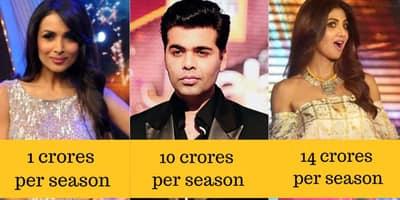 जानिए बॉलीवुड के ये 15 सितारे एक रियलिटी शो जज करने के लिए कितने पैसे कमाते हैं !