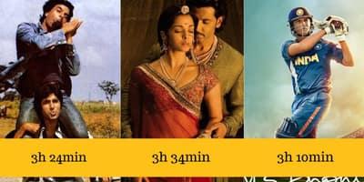 ये हैं बॉलीवुड की 21 सबसे लम्बी फिल्में !