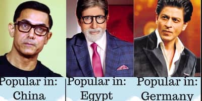 बॉलीवुड के इन सितारों के लिए भारत में ही नहीं बल्कि इन देशों में भी पागल हैं लोग !
