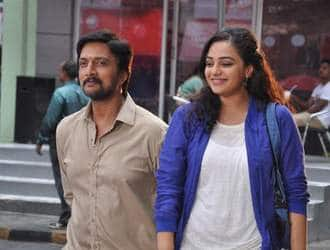 When Nithya steals thunder from Sudeep