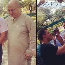 Salman Khan surprises Sooraj with a cake