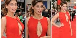 Nargis Fakhri Rocked the Red Carpet in Red